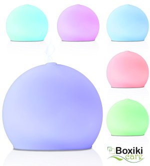 $35 Premium Frosted Glass Aroma Diffuser Ultrasonic Ionizer Cool Mist Essential Oil Humidifier