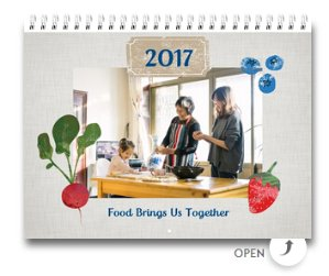 FreePersonalized Wall Calendar 8.5