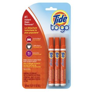 $4.69 Tide To Go Instant Stain Remover Liquid Pen, 3 Count