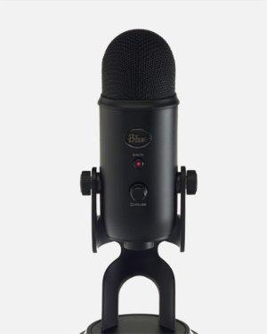 $89Yeti Blackout Professional Microphone