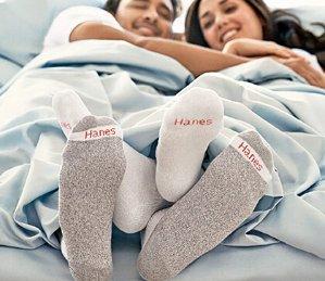 第二件5折Hanes.com精选男女内衣袜子限时促销