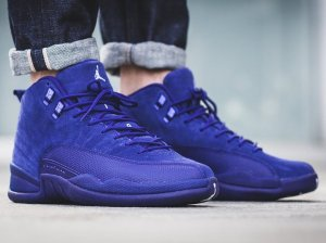 Now Available Air Jordan 12 'Deep Royal Blue'