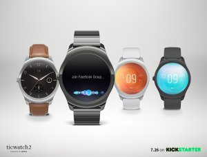 As Low as $199Preorder ticwatch 2 is Available on Kickstarter!