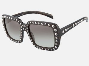 Dealmoon Exclusive! 80% Off + Free Shippingon PRADA PR 30QS ORNATE 2AU0A7 SUNGLASSES @ Luxomo