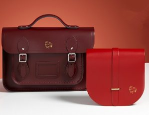 15% off Full Price items+ Free Chinese Animal Embossing and GWP valued at $100 @ The Cambridge Satchel Company