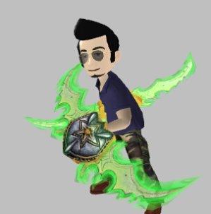 Free!Xbox Avatar Prop: World of Warcraft: Legion Warglaives & Air Jordan XXXI