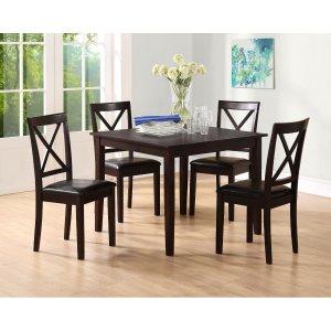 $179.10(原价$279.99)Essential Home 餐桌椅5件套