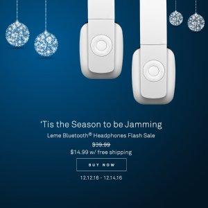 $14.99Leme EB20 蓝牙耳机(原价$39.99)