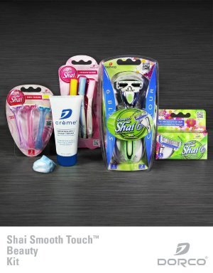 50% OffShai 6 Smooth Touch Beauty Kit + Free Shipping @ Dorco USA