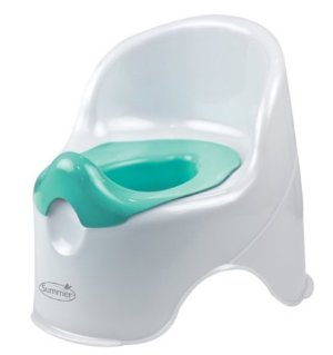 $3.14 #1 Best Seller! Summer Infant Lil' Loo Potty, Teal and White