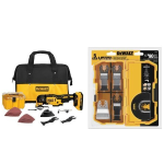 DEWALT DCS355D1 20V XR Brushless Oscillating Multi-Tool Kit with DWA4216 5-Piece Accessory Kit Bundle