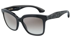 $134MIU MIU MU 09PS CRYSTAL ROCK 1AB0A7 SUNGLASSES