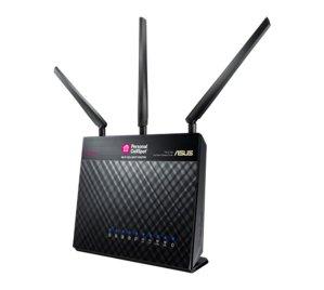 $45ASUS TM-AC1900 Dual-Band Gigabit Router RECERTIFIED