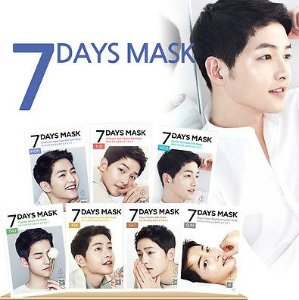 $2Forencos Song Joong Ki Seven Days Mask @ MEMEBOX