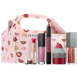$28(价值$80)Sephora Favorites  Give Me Some New Lip Kit 唇膏套装