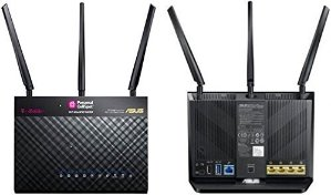 $50.00ASUS TM-AC1900 AC1900 双频无线智能路由 翻新