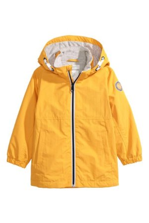 $14.99Outdoor Jacket with Hood | Yellow | Kids | H&M US外套