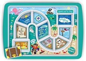 现价$11.7(原价$20)Fred & Friends Fred DINNER WINNER 儿童趣味餐盘 海盗款