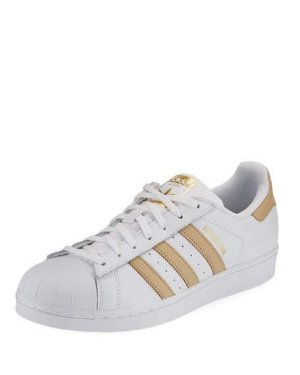 $50Adidas Superstar Lace-Up Sneaker
