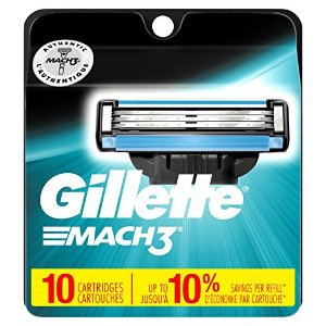 $14.43Gillette Mach3 Men's Razor Blades, 10 Blade Refills