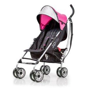 $55.99 包邮Summer Infant 3D lite 轻便推车/伞车,粉色