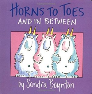 $2.71 Horns to Toes and in Between Board book