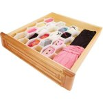 Simplify 34-Compartment Drawer Organizer