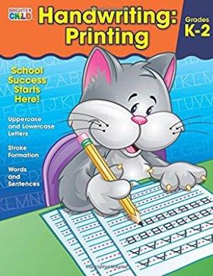 $3 Handwriting: Printing Workbook (Brighter Child: Grades K-2)