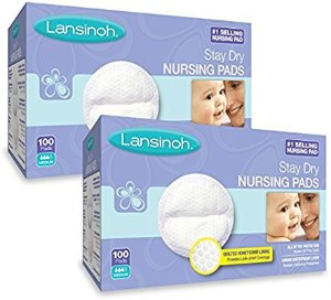 $19Lansinoh Stay Dry Disposable Nursing Pads 2 pack