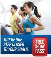Free 3 day Trial Pass@ 24hr Fitness