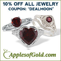 10% OFFstore wide  @ ApplesofGold.com