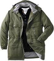 $24.99Boulder Creek Men's Solid Hooded Parka Jacket