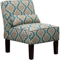 $84Carson Upholstered Accent Slipper Chair