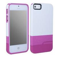 $5Body Glove Diamond Splash Case for iPhone 5/5S - White/Pink & White/Gray