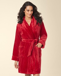 $24Soma Embraceable Plush Robes + Matching Slippers