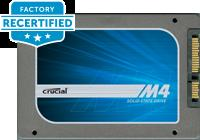 From $29.9940% Off! Crucial Factory Recertified SSD