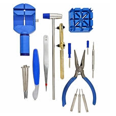 Free16-piece Deluxe Watch Repair Tool Kit Wrk001