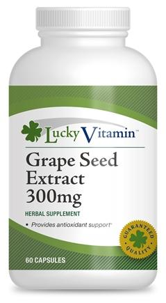 $6Grape Seed Extract 300 mg (60 Capsules)