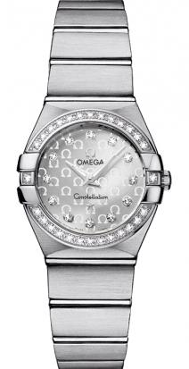 $2750Omega Constellation Ladies' Quartz Watch 123.15.24.60.52.001