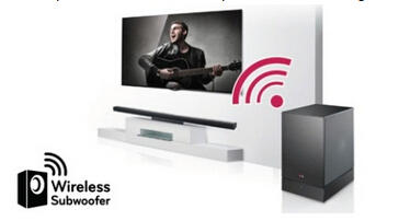 $99LG NB3530A - 2.1 Channel Surround Soundbar with Wireless Subwoofer
