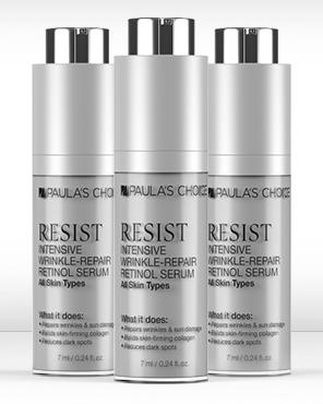 Free Resist Retinol Serum +Free Shippingwith Any $50 Purchase @ Paula's Choice