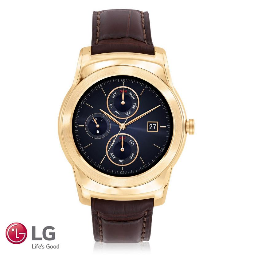 $119523K Gold LG Urbane Luxe Smart Watch