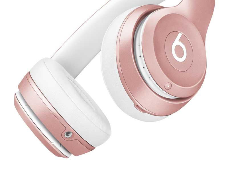 Free 2-Day ShippingBeats Solo2 Wireless On-Ear Headphones - Rose Gold