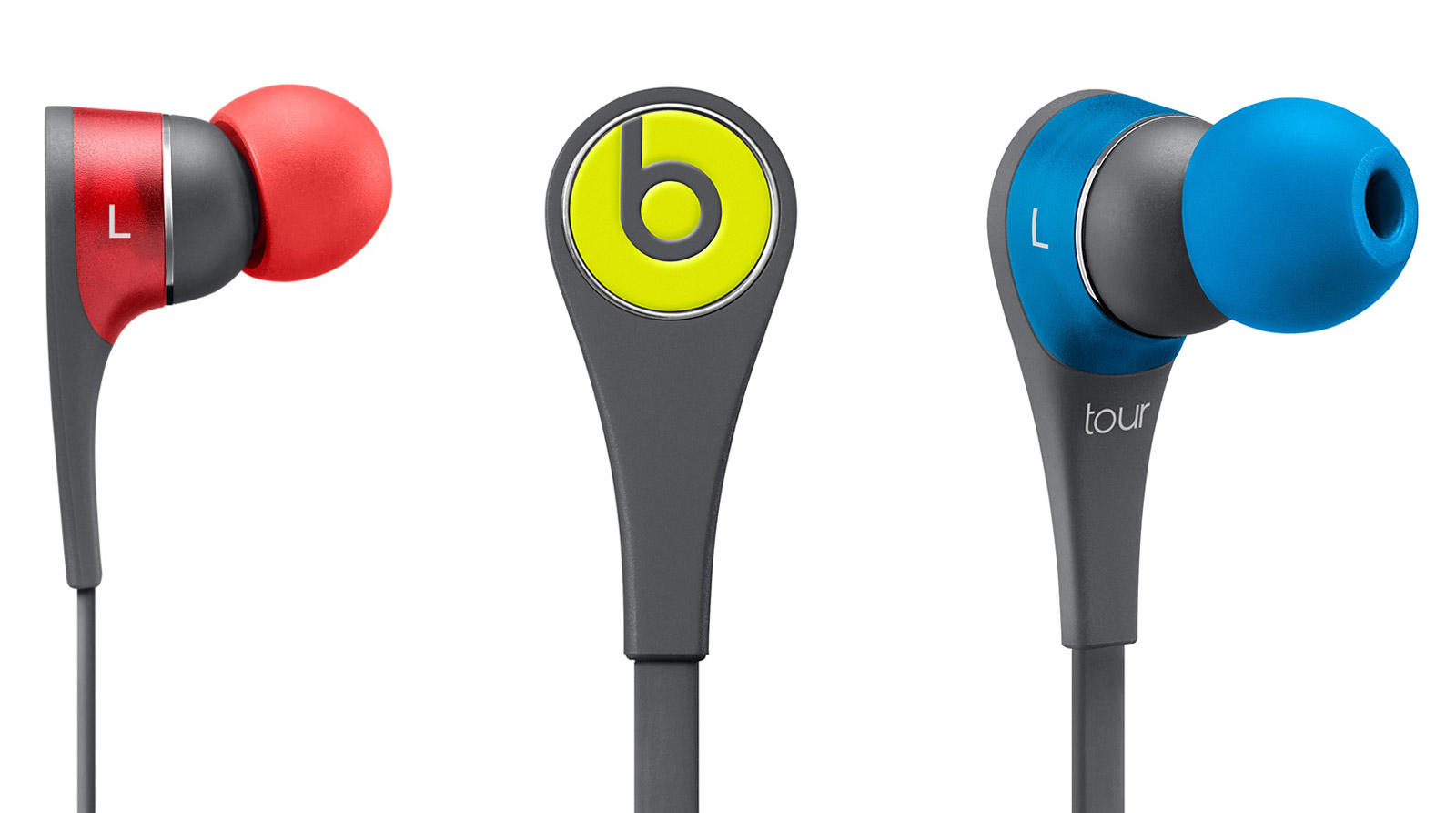 $99Beats Tour2 In-Ear Headphones With In-Line Mic, Active Collection