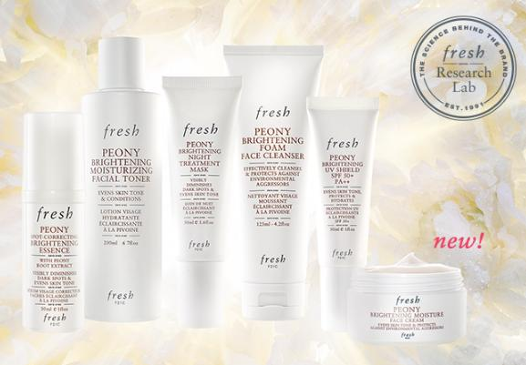 Free Peony Brightening Duo Deluxe SampleWith Over $100 Purchase @ Fresh