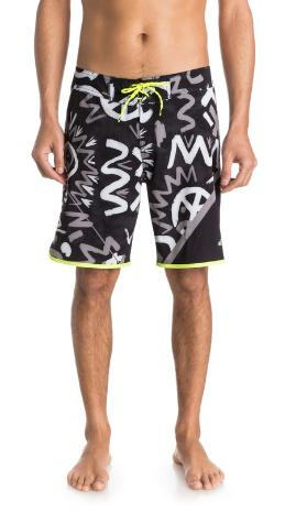 """$13Quiksilver AG47 New Wave High 20"""" Boardshorts"""