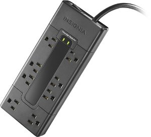 $9.99Insignia 8-Outlet Surge Protector Strip