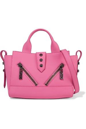 $194KENZO Coated-leather shoulder bag