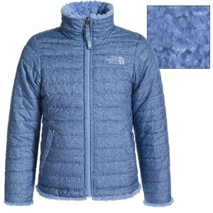 $49The North Face Reversible Mossbud Swirl Jacket - Insulated, Fleece Lined (For Little and Big Girls)