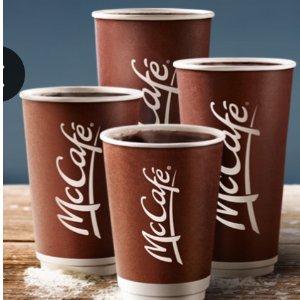 任何size只要$1McDonalds 麦当劳  McCafé Premium Roast 咖啡特价
